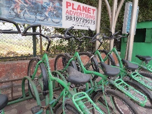 Planet Green Bikes - Chirag Delhi - Go Public - ITDP Global